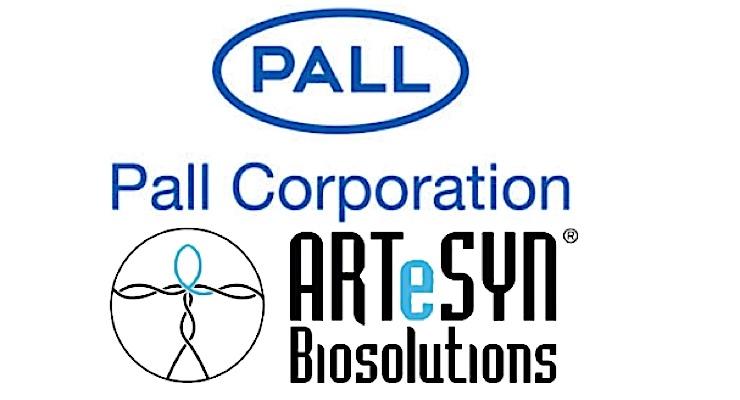 Pall, ARTeSYN Biosolutions Expand Single-Use Technology Alliance