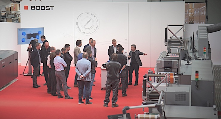 Bobst unveils Ink-on-Demand, DigiColor at open house