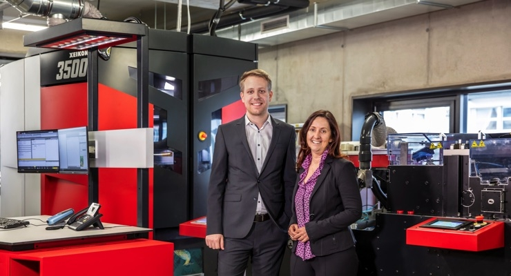 Komar Products Adds Xeikon 3500 Digital Roll Printing System