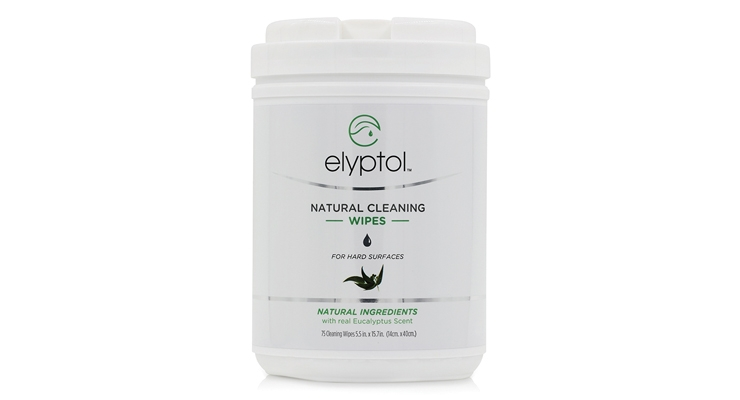 Elyptol offers all-natural, germ killing wipes for hard surfaces and hands.