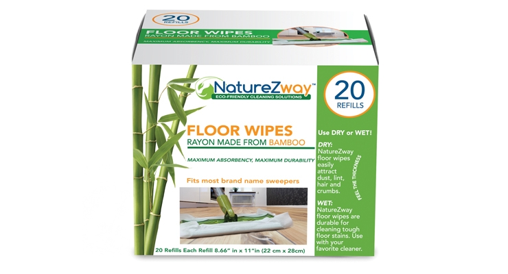 NatureZway offers a range of bamboo-based cleaning wipes and towels.