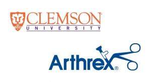 Clemson, Arthrex Begin Program to Train Students for Surgical Device Development
