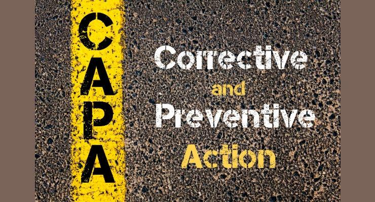 CAPA's Impact on Compliance