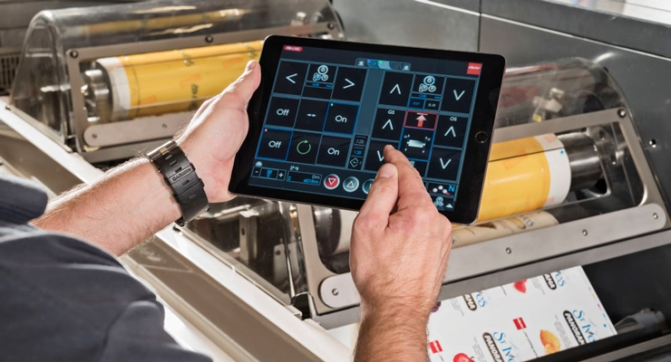 Nilpeter's Clean Hand technology and tablet are modern flexo features.