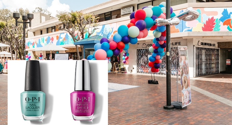 OPI Launches Little Tokyo Line with a Mural in LA