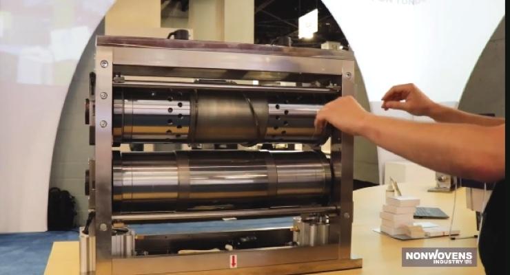 Video: Nippon Tungsten Exhibits New Technologies - Nonwovens