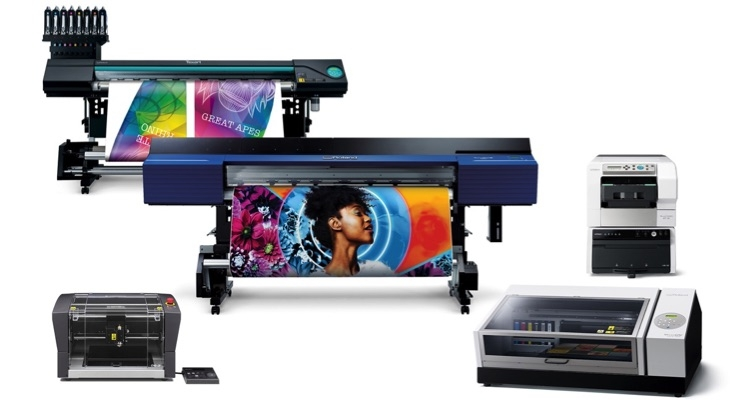 Roland DGA Showcasing 5 New Products at 2019 ISA International Sign Expo