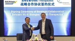 WuXi Biologics, NBE-Therapeutics Enter ADC Devt. and Mfg. Tie-up