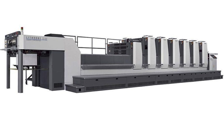 Knight Abbey Printing and Direct Mail Purchases First Komori Press