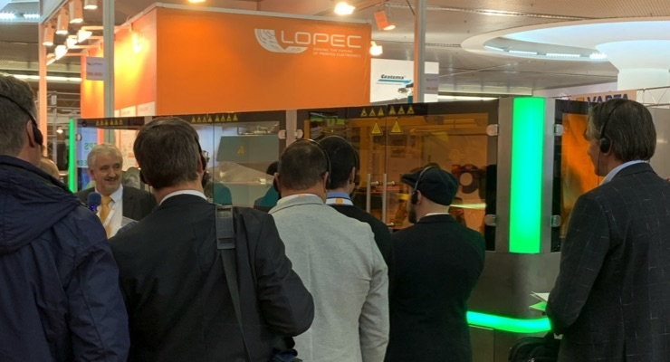 Scenes from LOPEC 2019