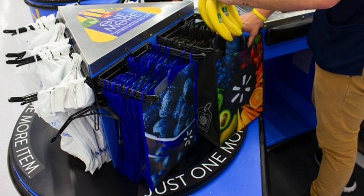 Walmart Launches Reusable Bag Campaign