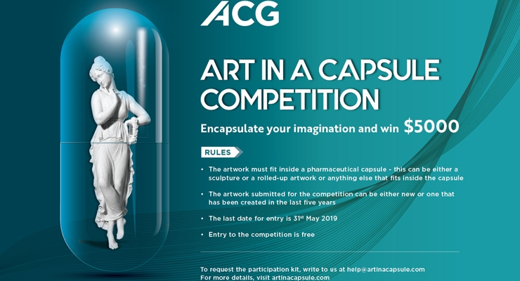 ACG Presents 'Art In A Capsule' Competition