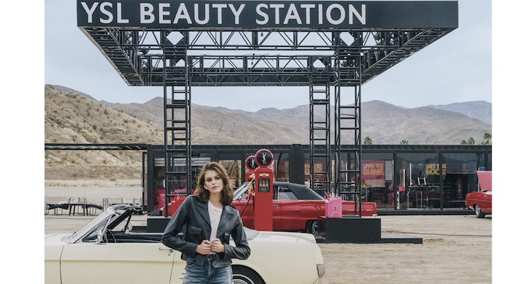 9476102fac0 YSL Beauté Opens Pop-Up Shop In The Desert Near Palm Springs ...