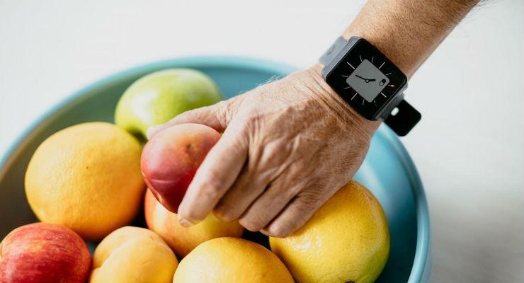 Wearable watch-like device monitors motor symptoms of Parkinson