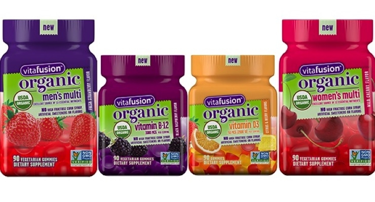 Vitafusion Launches Organic Gummy Vitamins
