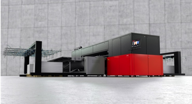 Agfa Demonstrating Jeti Tauro H3300 LED Flagship at FESPA 2019