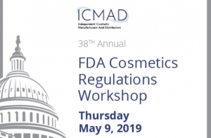 Registration Opens for FDA Cosmetics Regulation Workshop