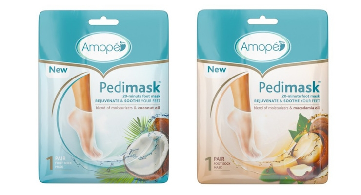 Amopé Launches New Pedi Masks