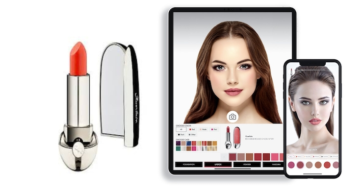 Guerlain Partners with Voir for Virtual Makeup Try-On Tool