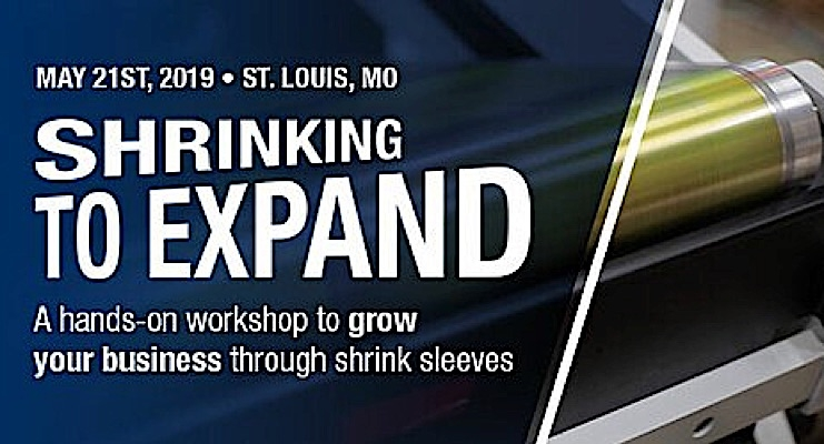 Mark Andy to host Shrink Sleeve Workshop