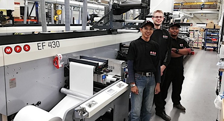 Indonesian printer adds first MPS flexo press