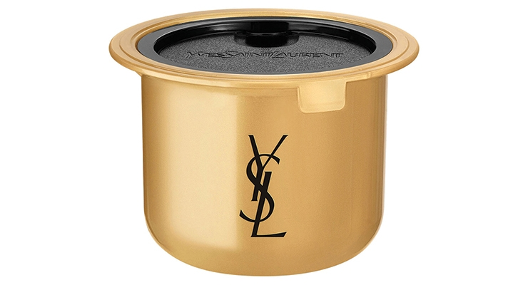 Albéa manufactured the refillable and eco-designed  packaging of Yves Saint Laurent Or Rouge.