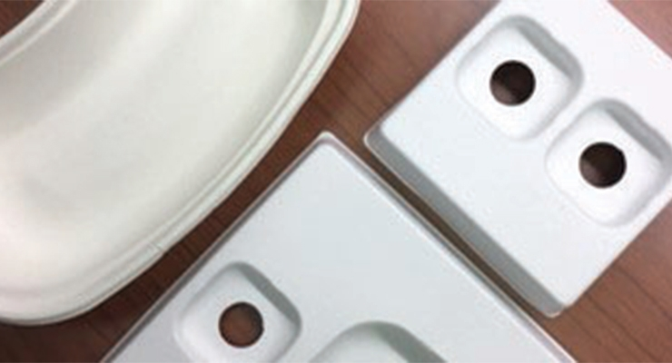 Lombardi Design & Mfg. has launched a new capability  in biodegradable pulp molding.