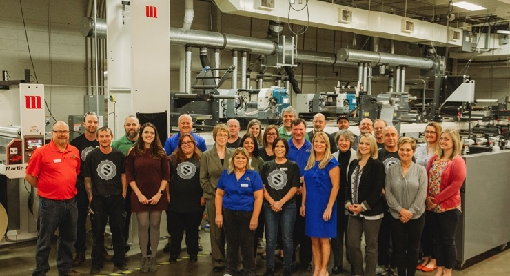 Team Steinhauser welcomes the new 12-color MPS press and the dawn of a new era.