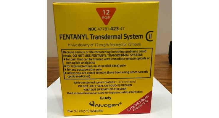 3M Labeling Error Prompts Alvogen Fentanyl Patch Recall