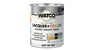 New WATCO All-In-One Lacquer + Color