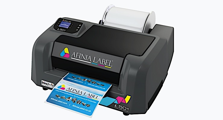 Afinia Label and Sihl announce BS 5609 certification of L501 printer