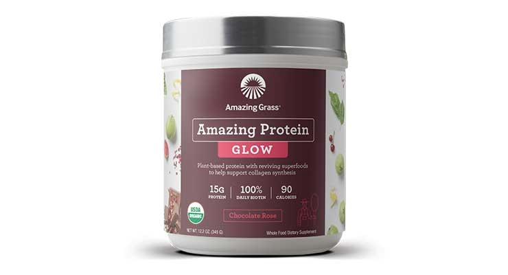 This new product from Amazing Grass offers consumers non-animal based collagen.