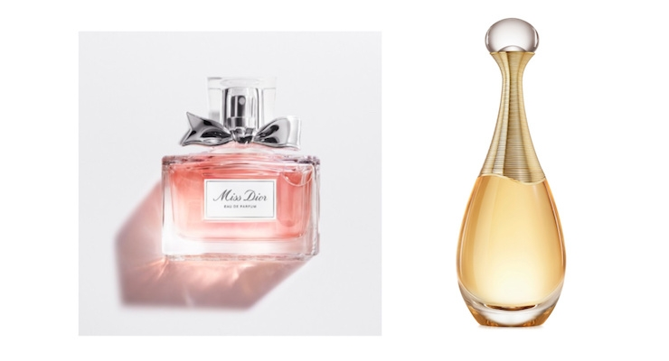 Parfums Christian Dior fragrances, Miss Dior and J