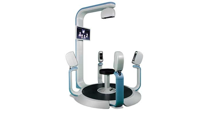 This 3D, high-resolution scanner lowered the process time and offered superior results for clinicians and patients. Image courtesy of ATOM Innovation + Product Development.