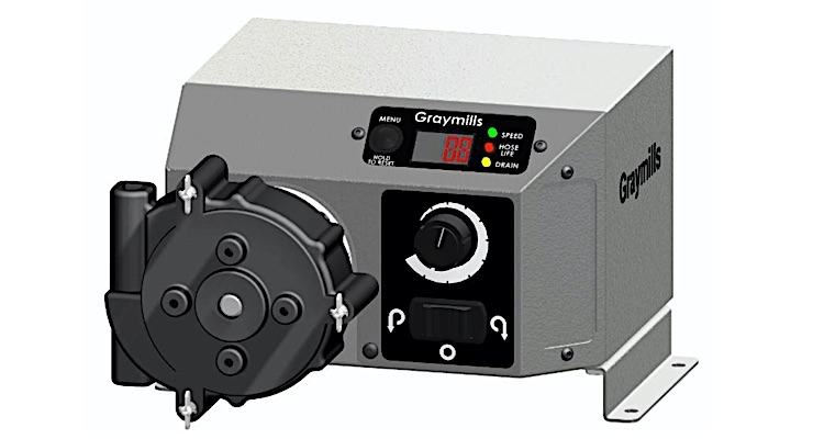 Graymills launching PQT Peristaltic Pump