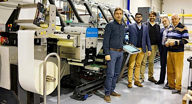 Greek label printer turns to Gallus