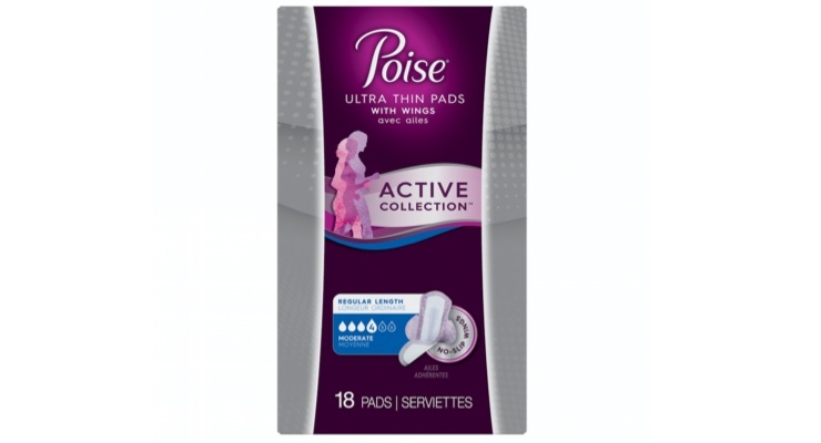 Poise Launches Ultra Thin Active Collection