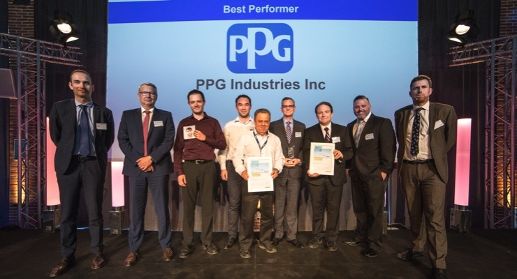 PPG Receives Airbus Best Performer Award as Flight-deck Window Supplier
