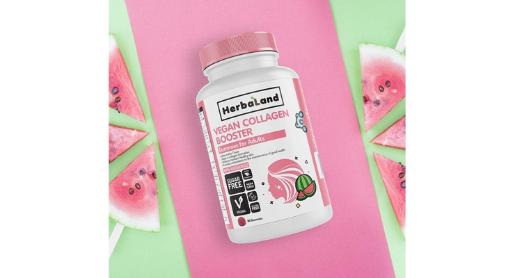 Herbaland Gummies Launches Vegan Collagen Supplement