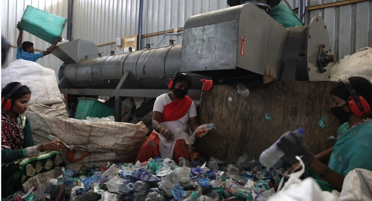 The Body Shop Partners with Plastics For Change