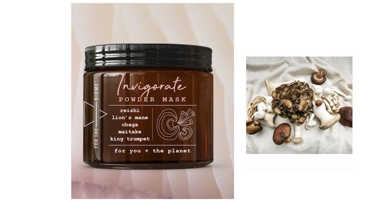 New Skincare Company Partners with Om Mushroom