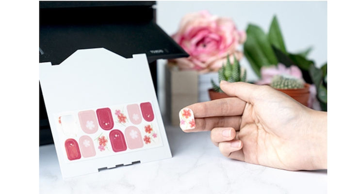 Canon Launches Customizable Nail Stickers You Can Print