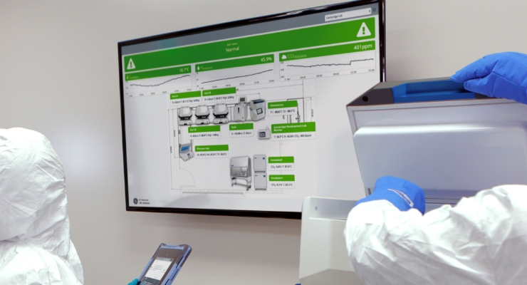 Chronicle automation software is a GMP compliant fit-for-purpose digital solution designed to optimize complex cell therapy process development and manufacturing. Image courtesy of GE Healthcare.