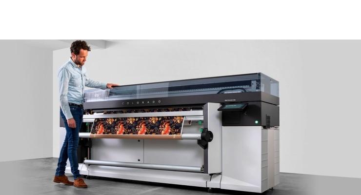 Océ Colorado 1650 large format graphics printer. (Source: Canon)