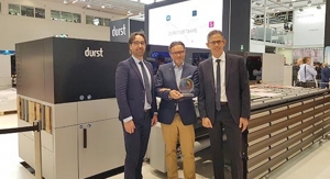 FESPA 2019: Durst P5 350 Hybrid Production Platform Wins EDP Award
