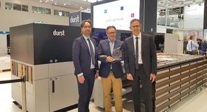 FESPA 2019: Durst P5 350 Hybrid Production Platform Wins EDP Award
