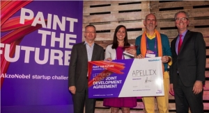 Apellix, SAS Nanotechnologies LLC Win AkzoNobel's Paint the Future Award