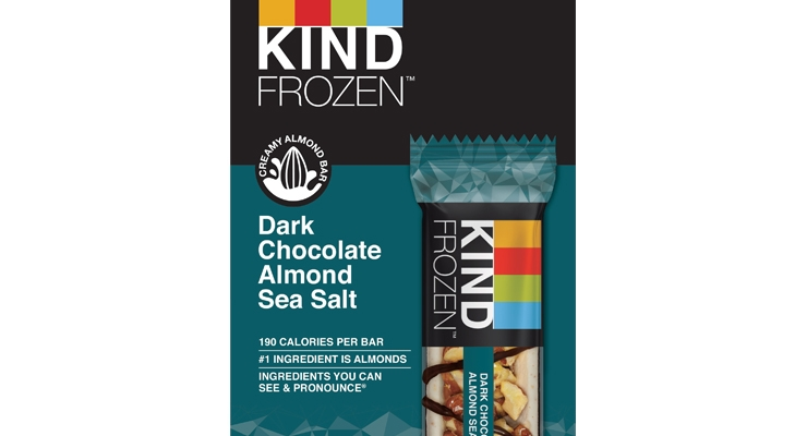KIND Enters Frozen Snack Category