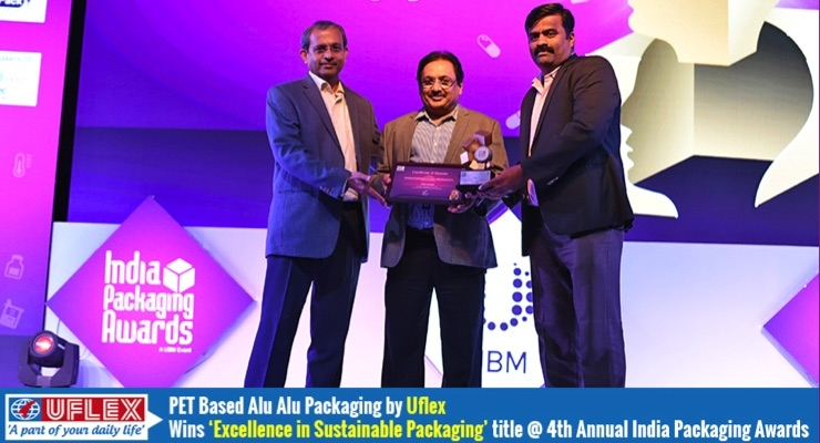 PET-Based Alu-Alu Packaging by Uflex Honored for Excellence in Sustainable Packaging