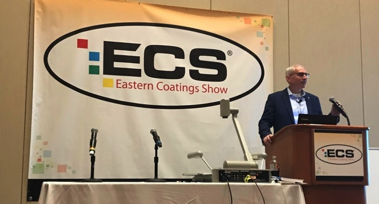 PPG's Kevin Braun Discusses Future Trends During 2019 Eastern Coatings Show